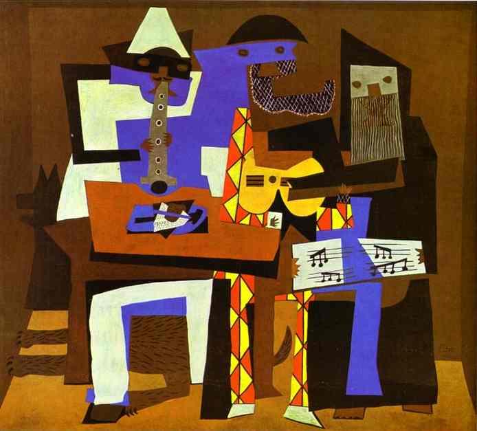 Picasso Drei Musikanten
