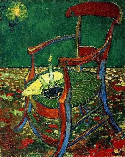Paul Gauguins Stuhl Von Vincent Van Gogh 1853 1890