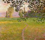 Claude Monet - Morning Landscape, Giverny (aka Landscape in the Morning)