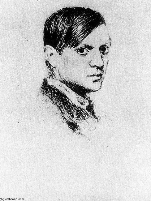 Pablo Picasso Selbstbildnis