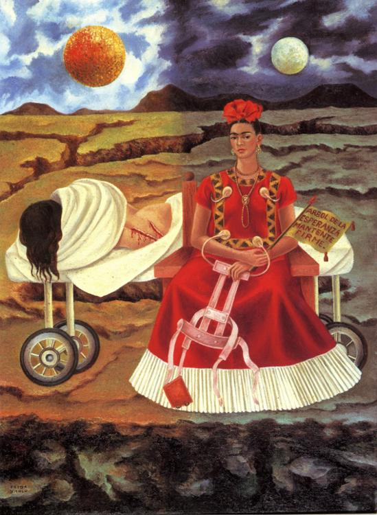 tree of hope frida kahlo. Black Bedroom Furniture Sets. Home Design Ideas