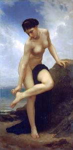 William Adolphe Bouguereau - Nach dem Bad 1875