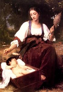 William Adolphe Bouguereau - Schlaflied
