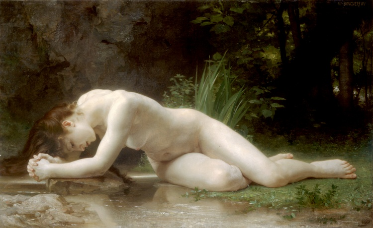 Biblis, öl von William Adolphe Bouguereau (1825-1905, France)