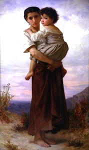 William Adolphe Bouguereau - Junge Zigeuner