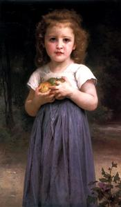 William Adolphe Bouguereau - Maiden und Kinder