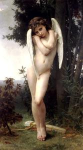 William Adolphe Bouguereau - Lamour nass