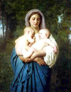 William Adolphe Bouguereau - Charity 1859