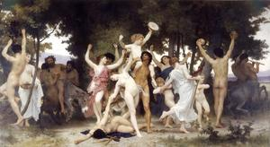 William Adolphe Bouguereau - Jugend des Bacchus