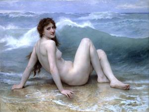 William Adolphe Bouguereau - der welle
