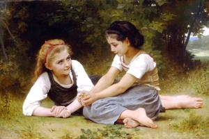 William Adolphe Bouguereau - Haselnüsse