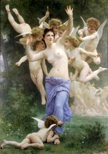 William Adolphe Bouguereau - Das Nest