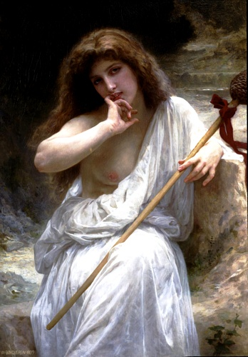 Mailice, öl von William Adolphe Bouguereau (1825-1905, France)