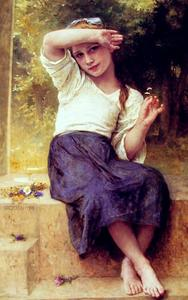 William Adolphe Bouguereau - Margerite