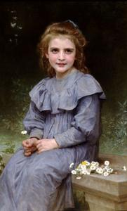 William Adolphe Bouguereau - Gänseblümchen