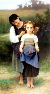 William Adolphe Bouguereau - Parure Felder