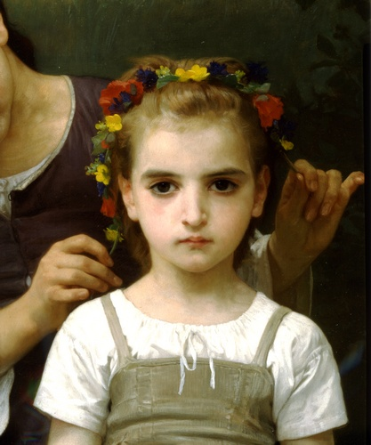 Parure des champs Recht, öl von William Adolphe Bouguereau (1825-1905, France)