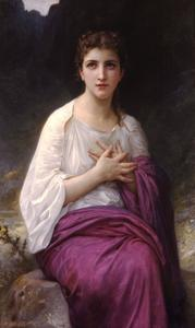 William Adolphe Bouguereau - Psyche