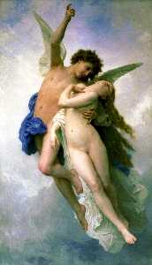 William Adolphe Bouguereau - Psyche und Lamoureux
