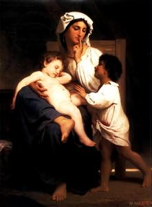 William Adolphe Bouguereau - Schlummer