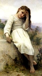 William Adolphe Bouguereau - Der kleine Marauder 1900