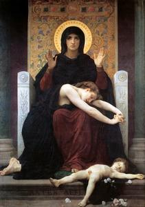 William Adolphe Bouguereau - Virgin Tröster
