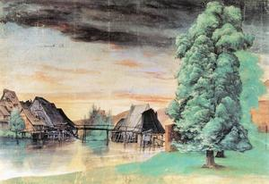 Albrecht Durer - Willow Mill