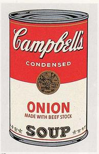 Andy Warhol - Campbell-S suppe kann ( zwiebel )