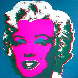 Andy Warhol - Marilyn Blau
