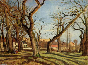 Camille Pissarro - Chestnut Trees at Louveciennes