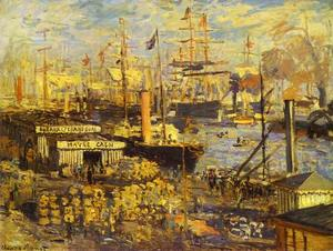 Claude Monet - Das Grand Dock in Le Havre (Le Grand Quai au Le Havre)