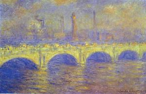 Claude Monet - Die Waterloo Bridge