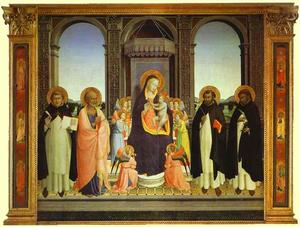 Fra Angelico - fiesole triptychon
