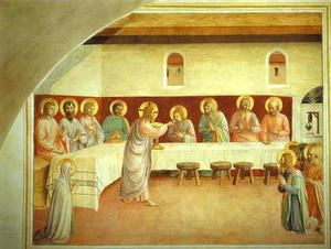 Fra Angelico - die institution der eucharistie