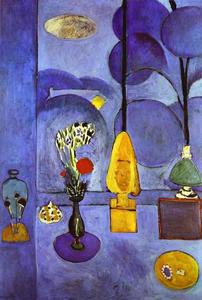 Henri Matisse - Die Blue Window