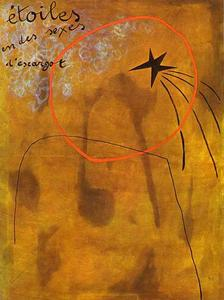 Joan Miro - Stars in Schnecken -Sexes