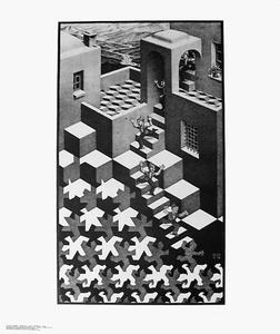 Verbum lithographie von maurits cornelis escher 1898 for Escher mostra catania