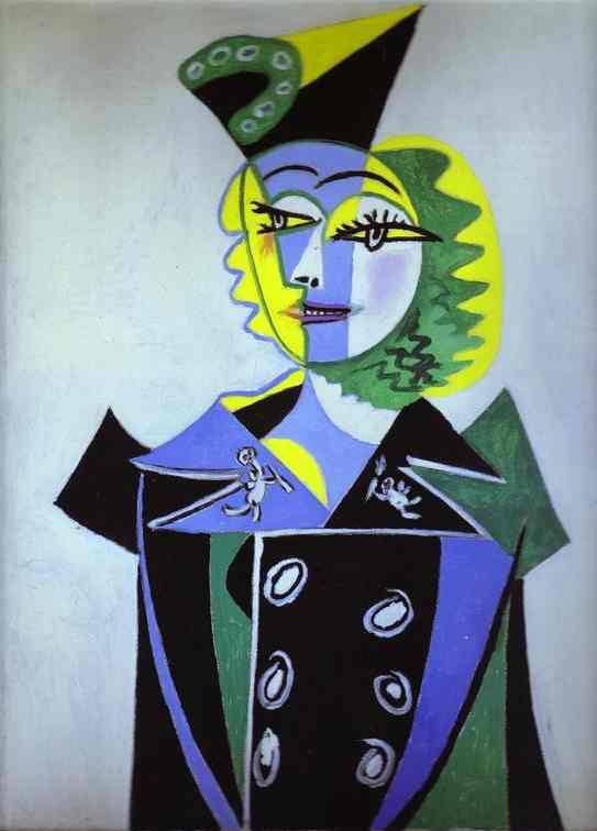 portrait nusche eluard l von pablo picasso 1881 1973. Black Bedroom Furniture Sets. Home Design Ideas