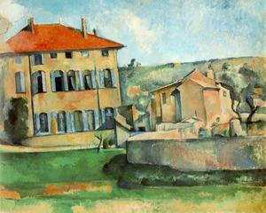 Paul Cezanne - House and Farm in Jas de Bouffan