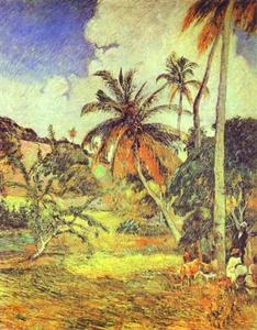 Paul Gauguin - Palmen auf Martinique