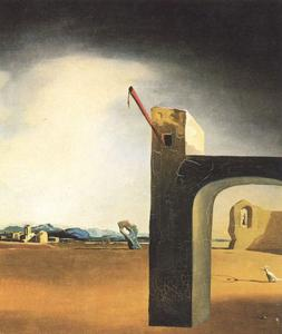 Salvador Dali - -Morphological Echo- , um 1936