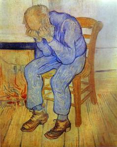 Vincent Van Gogh - Alter Mann in der Sorge