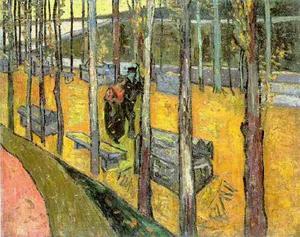 Vincents Schlafzimmer in Arles, öl auf leinwand von Vincent Van Gogh ...
