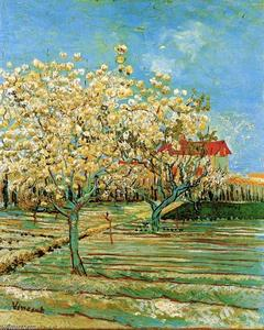 Vincent Van Gogh - Obstgarten in Blüte