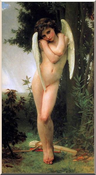 Cupidon von William Adolphe Bouguereau (1825-1905, France) | WahooArt.com