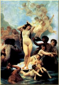 William Adolphe Bouguereau - Die Geburt der Venus