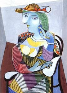 Pablo Picasso - sitzende frau ( Marie-Therese Walter )