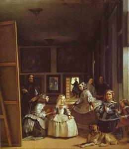 Diego Velazquez - las meninas ( die maids of honor ) oder der royal family