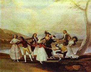 Francisco De Goya - Blind's man bluff