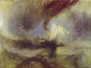William Turner - schnee sturm - Steam-Boat ab Harbour's Öffnung